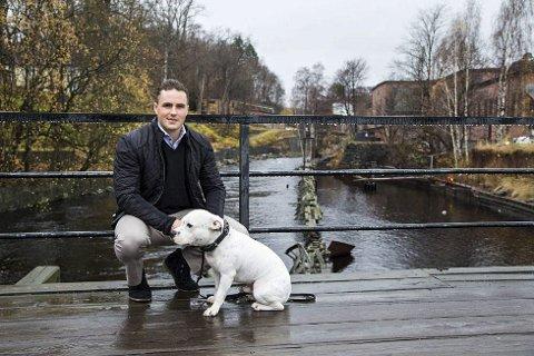 HAR OVERFØRT EIENDOMMER: Michael Stang Treschow har tilbakeført 345 eiendommer til Fritzøe skoger, som nå har blitt et AS.