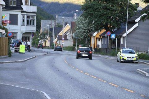 POLITI: Politiet på Rjukan stopper oftere og oftere sjåfører som rusa. (Arkivbilde)