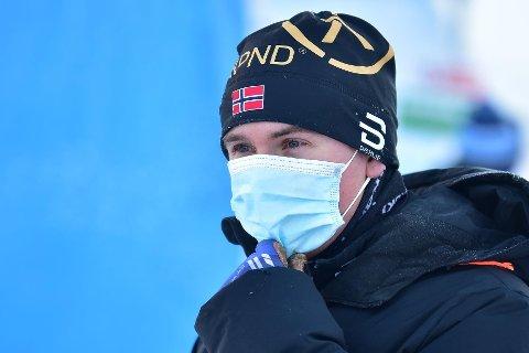 KLARTE SEG I KULDA: Thomas Ødegaarden er på Ski Classics-turné, og gikk rennet La Diagonela lørdag. Foto: La Diagonela