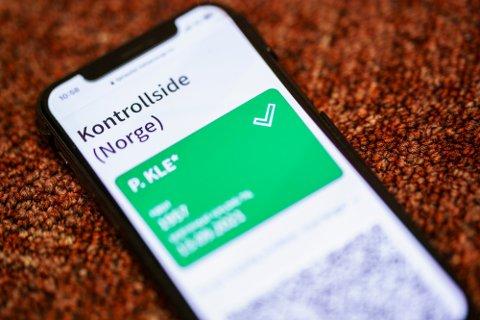 Denne kontrollsiden fjernes fra Helse Norge på torsdag klokka 14, opplyser regjeringen.