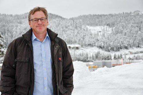 IKKE SAMME UTFORDRING I ÅR: Ordfører Jon Rikard Kleven, i Vinje i Vestfold og Telemark, kan fortelle om hvordan smittevernet til helsepersonell var grunnen til hytteforbudet. Foto: Ørjan Madsen/TA