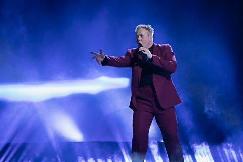 FRYKTER JORN: Kiim, Kim Rune Hagen, mener Jorn er hans hardeste konkurrent i finalen i Melodi Grand Prix.
