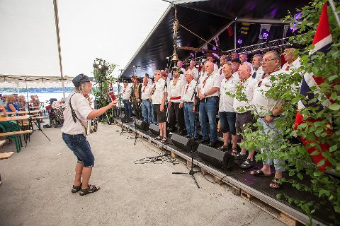 AVLYST: Shantyfestivalen har vært startskuddet for festivalsommeren i Langesund.
