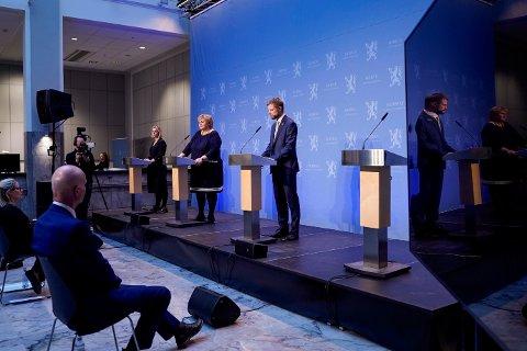 ILLUSTRASJONSBILDE: De nasjonale tiltakene forlenges, og statsministeren legger fram en plan for gjenåpning for Stortinget onsdag.