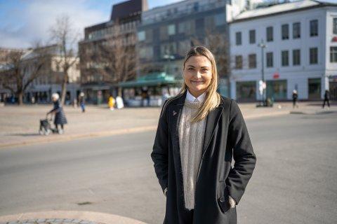 MÅLRETTET: Mirjam Hazeland Dalsrud (28) fra Drammen har spart jevnt i aksjefond i flere år, nå har hun nådd målet sitt.