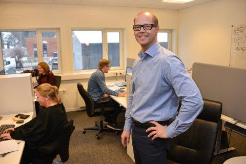 REKORDÅR: Selskapet Baze Technology AS med daglig leder Tor-Egil Tinderholt i spissen har lagt bak seg nok et solid år.