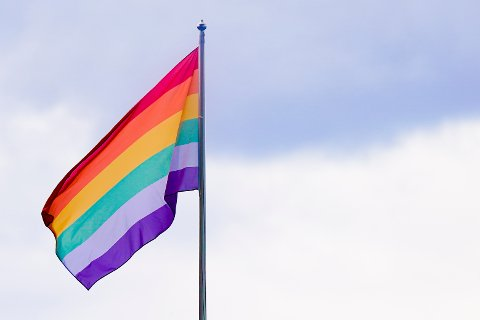 SKAL VAIE: Prideflagget skal vaie i Nome kommune.