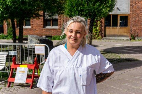 LEI: Ragna Fjellingsdal Eriksen har ved flere anledninger opplevd å bli utskjelt av sinte bussjåfører.