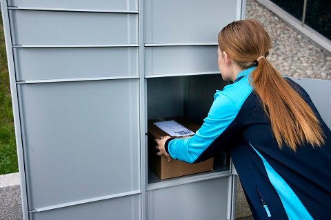 Paketboxar, PostNord.