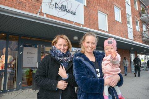 HOLDER KOKEN: Linn Dragsten Olsen og Linn Marie Dehli Nøringset flytter Dollhouse-forretningen inn til &Otto, som ligget er et steinkast unna.