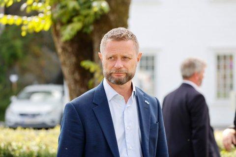 ORIENTERER: Helse- og omsorgsminister Bent Høie (H) deltar fredag klokka 12 på ny pressekonferanse om koronasituasjonen. Foto: Tor Erik Schrøder (NTB)