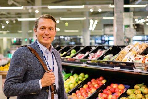 PROSJEKTLEDER: I starten av forrige måned ble Snorre Birkeland fra Tinn ansatt som prosjektleder i Coop Norge.