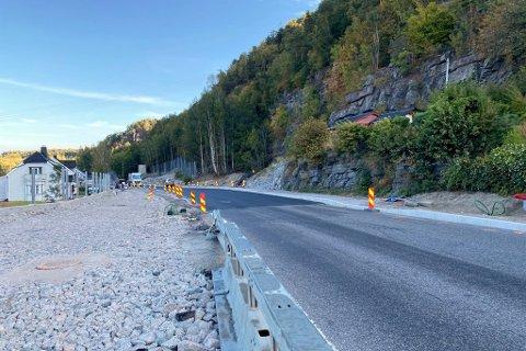 Ca. 150 meter sørover fra Klevstrandkrysset vil det være midlertidig lysregulering. Ifølge Bypakke Grenland vil det innsnevrede feltet strekke seg ca. 150 meter på Herøyavegen.