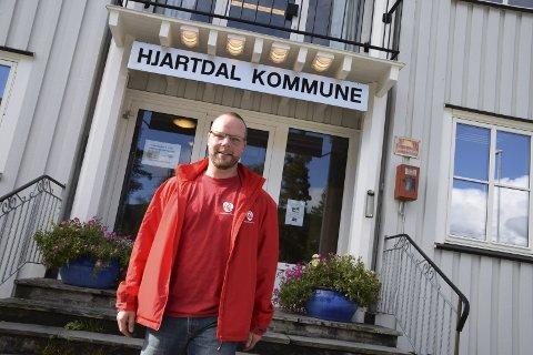 SAKSORDFØRAR: Ordførar Bengt Halvard Odden er saksordførar i denne saka. (Foto: Jens Marius Hammer)