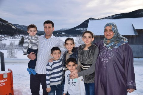 Syrisk familie til Tuddal