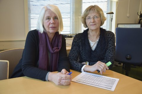 ØNSKER KLAGER: – Klager gir oss muligheter til å bli bedre, sier Anne Grete Rønningsdalen og kommunelege Mie Jørgensen.