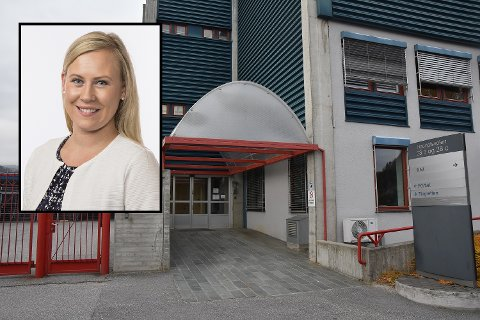 Lene Vågslid reagerer sterkt på nærpolitireformens utvikling i distriktene.