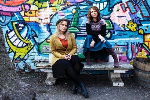 VOKAL: Duoen Fivil består av  Kirsti Bakken Kristiansen og Ingebjørg Lognvik Reinholdt