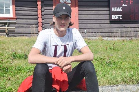 Sander Bjørndalen er klar til lørdagens NM i normalbakke.