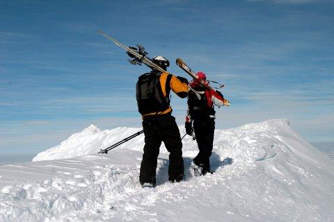 UTFORDRENDE: Gaustaområder er alltid utfordrende for hjelpekorpset i Hjartdal. (Illustrasjonsfoto)