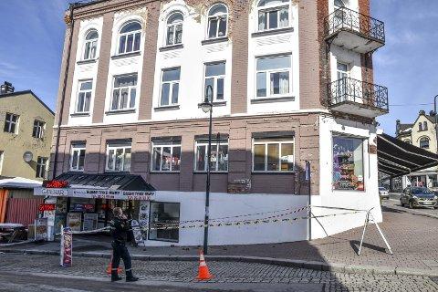 Verdensarv: Storgata 24 har ligget ute for salg i lengre tid, og er en del av verdensarven i Notodden.