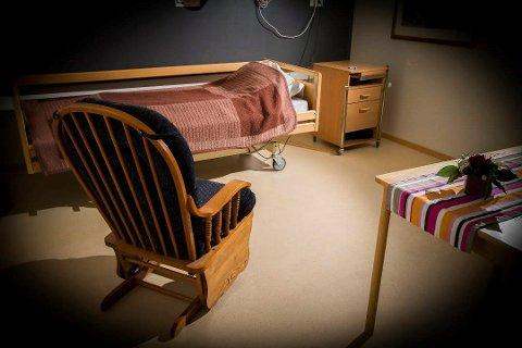 VENTER: 15 pasienter venter på sykehusplass i Notodden kommune.