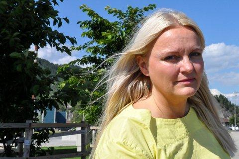 MISFORNØYD: - Jeg er ikke fornøyd med svaret til helseministeren, sier Åslaug Sem-Jacobsen.