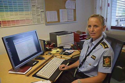 ETTERFORSKER: - Vi ser alvorlig på skyteepisoden og er i en tidlig fase av etterforskningen, opplyser Trine Haugeberg ved politiet på Notodden.