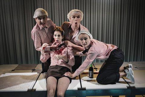"""FORESTILLING: Teater Ibsen er på vei til Notodden teater med forestillingen """"Den gyldne drage""""."""