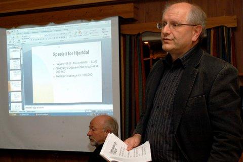 PROBLEM: Styreleder Helge Granlund i Grønn Vekst Telemark erkjenner at luktproblemet fra komposteringsanlegget på Goasholt er et problem som må løses. Flytting av anlegget er et av alternativene som det blir jobbet med. (Arkivfoto)