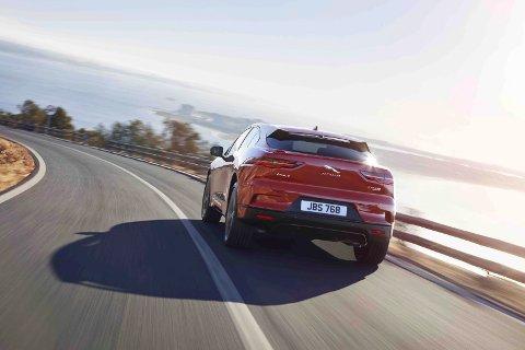 POPULÆR: Jaguar sin elbil, I-Pace, er blitt en populær elbil og har en start pris på rett under 600.000 kroner.