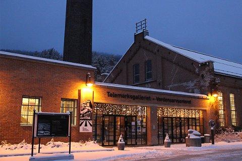 JUBILEUM: Det er 25 år siden det fylkeskommunale Telemark fylkesgalleri åpnet dørene på Notodden, og som etter ti år forsatte som Telemarksgalleriet AS, og i dag er en del av Norsk Industriarbeidermuseum.