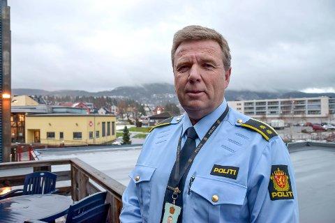 HAR SPOR: Politiet har sikret seg spor og etterforsker innbruddene i Gransherad og Årlifoss videre, opplyser etterforskningsleder Bjørn Flåta på Notodden.