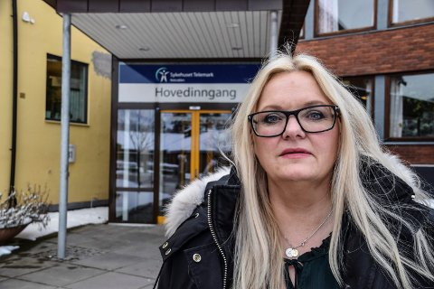 ALVORLIG:  Det er alvorlig når sykehusledelsen plukker bit for bit. Vi må være på vakt, mener stortingsrepresentant Åslaug Sem-Jacobsen, som lover å være vaktbikkje for det viktige tilbudet.