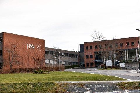 FLERE: Flere enn i fjor vil studere her ved USN campus Notodden. (Arkivfoto 2017)