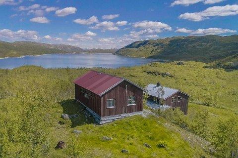 25 MILLIONER: Nå kan du sikre deg 39 kvadratmeter eiendom på Hardangervidda til 25 millioner kroner.