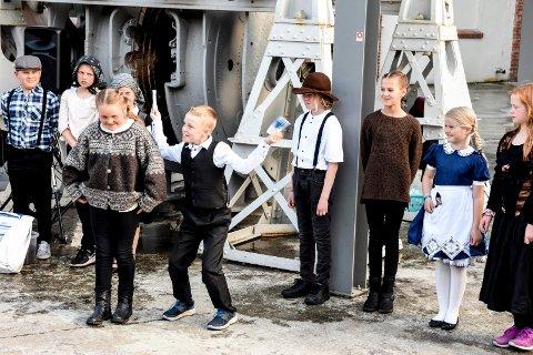 2019: Her et tilbakeblikk på 4. klassingenes verdensarvforestilling i Hydroparken, hvor alle kommunens skoler i Notodden kommune var involvert.