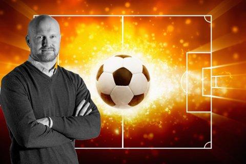 MÅ TA POENG: Fotballekspert Joacim Jonsson mener at Notodden bør ta fire poeng i de to neste kampene for å berge plassen i OBOS.
