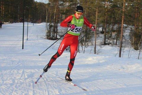 VANT TO RENN: Vebjørn Hovdejord fra Heddalvant to skirenn på samme dag, da han var raskest i G-17 både i Oslo skifestival og Heddalsprinten i løpet av fire timer! Det er en prestasjon som svært få langrennsløpere i Norge kan vise makan til.