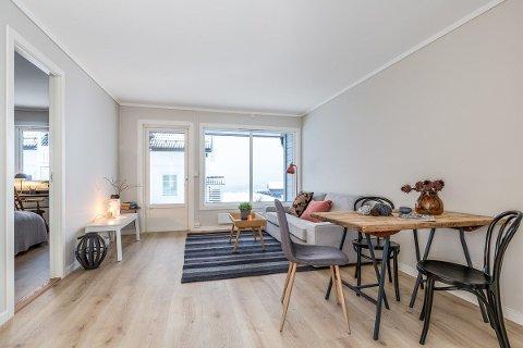 Denne leiligheten er en av byens billigste. Foto: Aktiv Eiendomsmegling