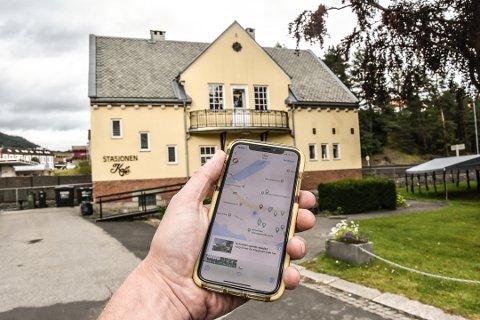 Opplev Rjukan-Notodden Industriarv gjennom deres app! Appen viser deg alle severdighetene nær deg.