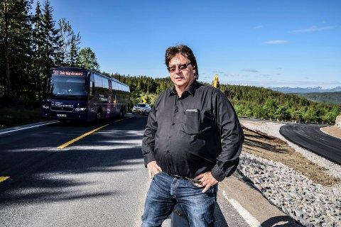REGJERINGEN: - Det er regjeringa som må ta skylda for at bussene til Oslo stopper, mener tillitsvalgt Håvard Moen.