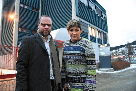 Bengt Halvard Odden og Gry Fuglestveit