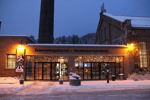 KUNSTMUSEUM: Telemarksgalleriet går glipp av en rekke statlige midler som følge av sin status. Nå ønsker galleriet og bli et regionalt kunstmuseum.