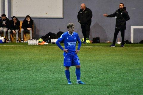 NOK ET TAP: Det ble nok et tap for Kristian Kjeverud og resten av NFK.