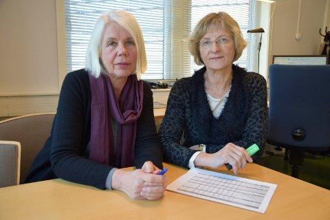 Anne Grete Rønningsdalen og kommunelege Mie Jørgensen