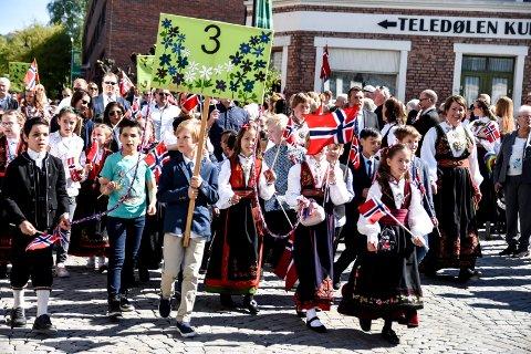 17. mai i Notodden 2019 - barnetoget.