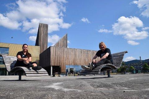 FIKK STØTTE: Jostein Forsberg og Mari Beate Sannes i Notodden Blues Festival fikk 75 000 kroner i koronastøtte fra Norsk Kulturråd til konsertserien Digifest 2020.