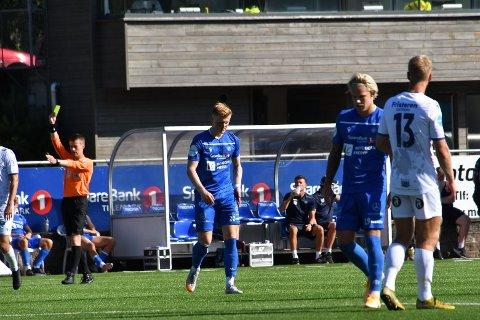 MÅLLØSE: Jørgen Voilås og Sebastian Pedersen kom begge til sine muligheter, men det manglet det siste lille for å overliste Levangers sisteskanse lørdag formiddag.