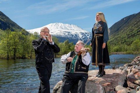 KONSERT: Sigmund Groven, Knut Buen og Anne Gravir Klykken holder konsert på Vemork 30.september. Nå er billettene lagt ut.